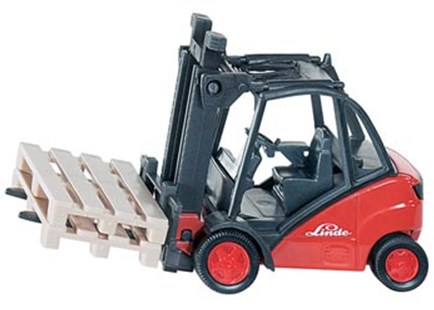 Siku - Linde Forklift Truck - 1:50 Scale - Children's Toys & Games Vehicles