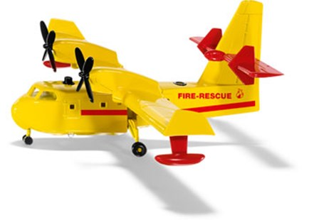 Siku - Firefighting Plane - 1:87 Scale - Children's Toys & Games Vehicles