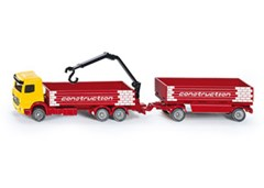 Siku - Mercedes Benz Truck for Construction and Trailer - 1:87 Scale