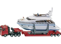 Siku - MAN Transporter with Yacht - 1:87 Scale