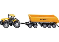 Siku - JCB Tractor with Dolly & Tipping Trailer - 1:87 Scale
