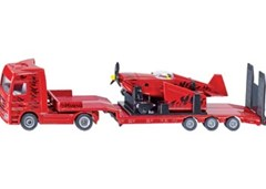Siku - Mercedes Benz Truck with Sporting Airplane - 1:87 Scale