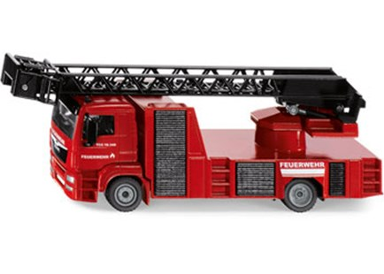 Siku - MAN Fire Engine 1:50 Scale - Children's Toys & Games Vehicles