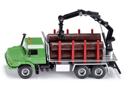 Siku - Mercedes Benz Log Transporter - 1:50 Scale - Children's Toys & Games Vehicles