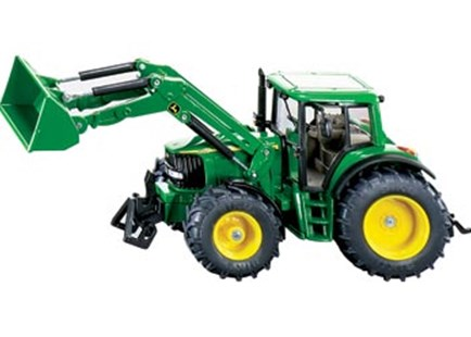 Siku - John Deere with Front Loader - 1:32 Scale - Children's Toys & Games Vehicles