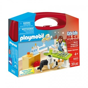 Playmobil Vet Visit Carry Case - Children's Toys & Games Figures & Dolls