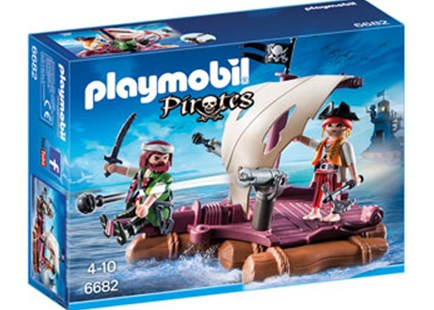 Playmobil - Pirate Raft - Children's Toys & Games Figures & Dolls