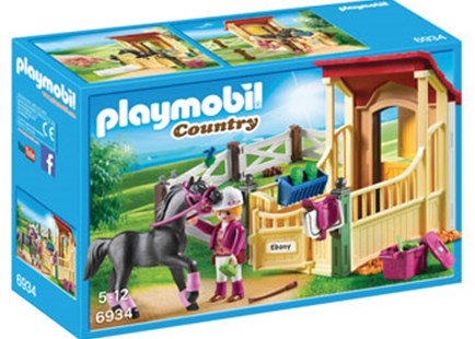 Playmobil - Horse Stable with Arabian Horse - Children's Toys & Games Figures & Dolls