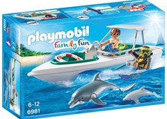 Playmobil - Diving Trip with Speedboat