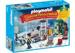 Playmobil - Advent Calender Jewel Thief Police Operation