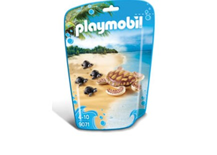 Playmobil - Sea Turtle with Babies - Children's Toys & Games Figures & Dolls