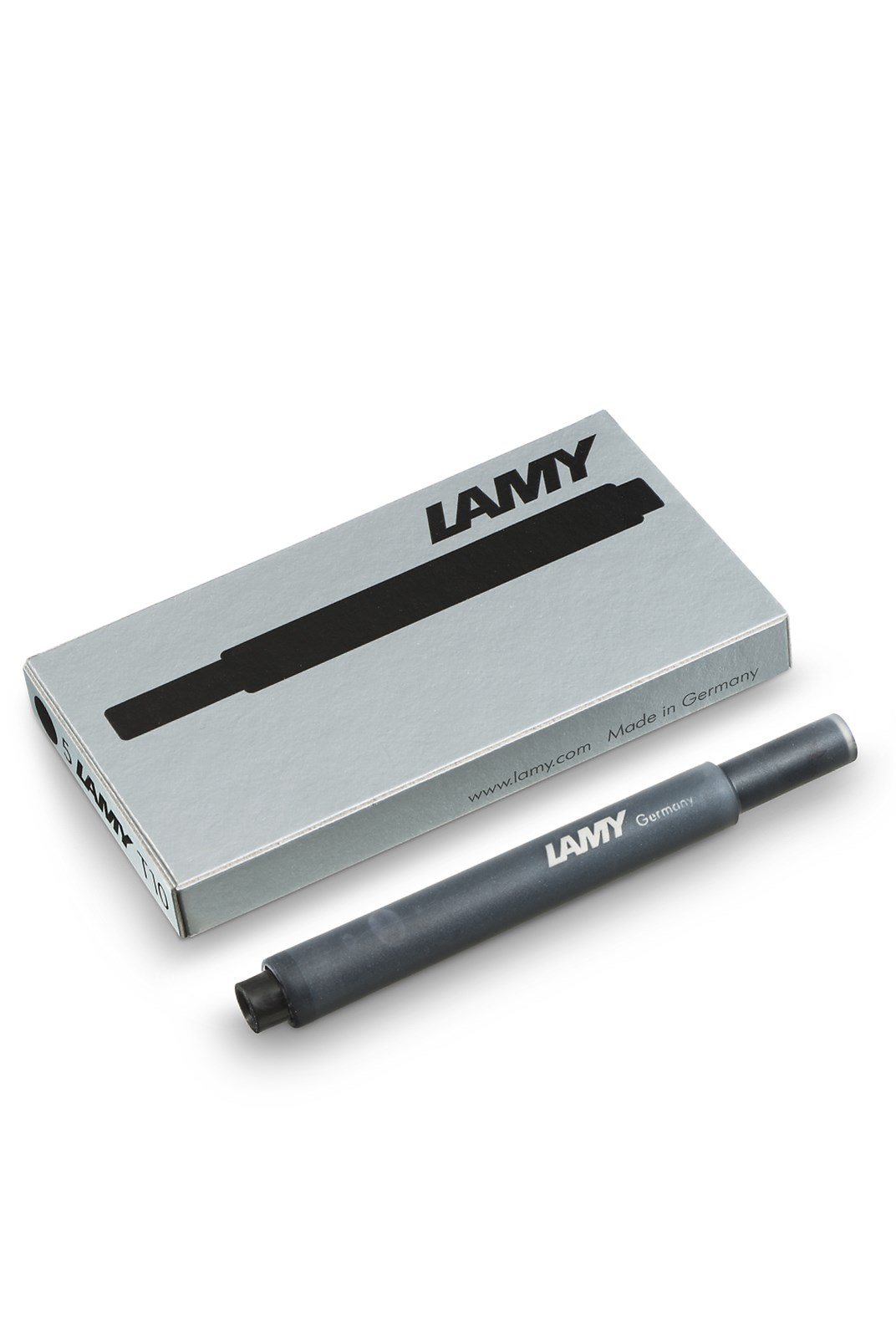 LAMY - T10 Fountain Pen Ink Cartridges - Pack of 5 - Black