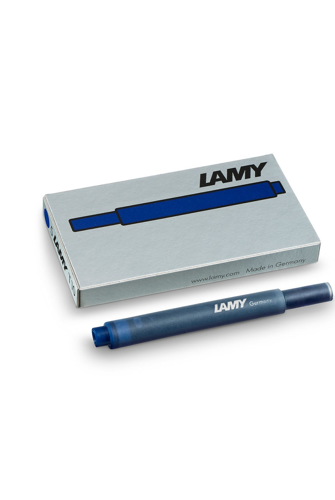 LAMY - T10 Fountain Pen Ink Cartridges - Pack of 5 - Hangsell - Blue-Black
