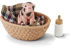 Schleich - Mini-Pig with Bottle
