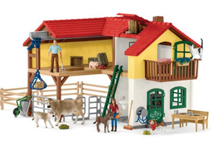 Schleich - Large Farm House - Children's Toys & Games Figures & Dolls