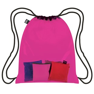 Backpack Transparent Collection - Pink - Bags & Carry Backpacks