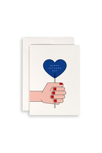 Redfries - Single Card - Blue Lollipop Father's Day - Cards & Wrap Greeting Cards