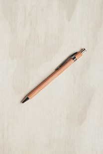 Delfonics - Pen - Mini - Natural - Pens & Pencils Ballpoint Pen