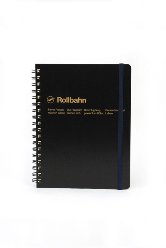 Delfonics - Rollbahn Notebook - Grid - Large - Black
