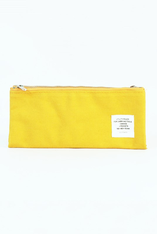 Delfonics - Utility Pouch Pencil Case - Yellow