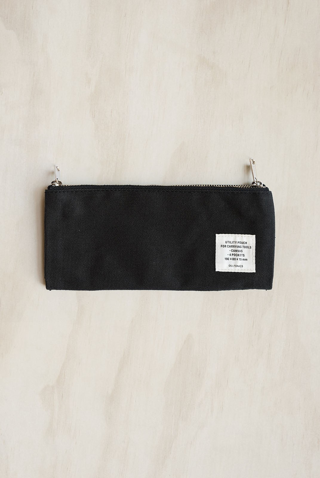 Delfonics - Utility Pouch Pencil Case - Black