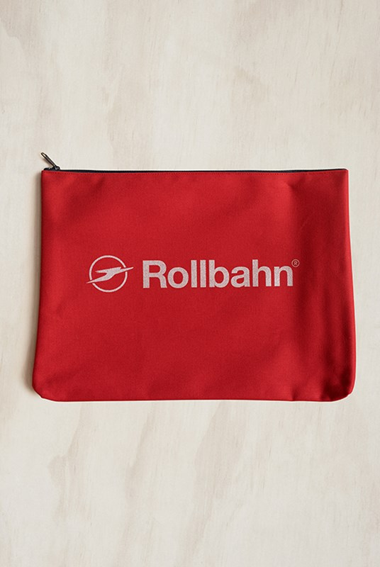Delfonics - Rollbahn Pouch - Large - Red