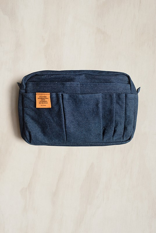 Delfonics - Inner Carry Bag - Medium - Dark Blue Denim