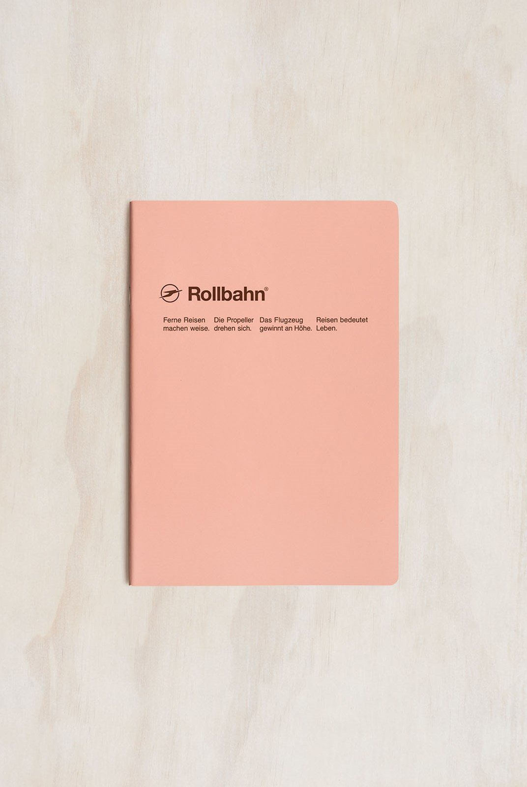 Delfonics - Rollbahn Slim Notebook - Grid - A5 - Light Pink