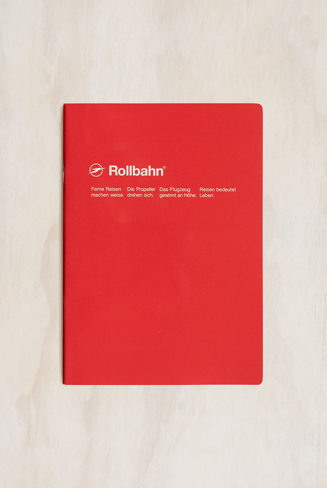 Delfonics - Rollbahn Slim Notebook - Grid - B5 - Red