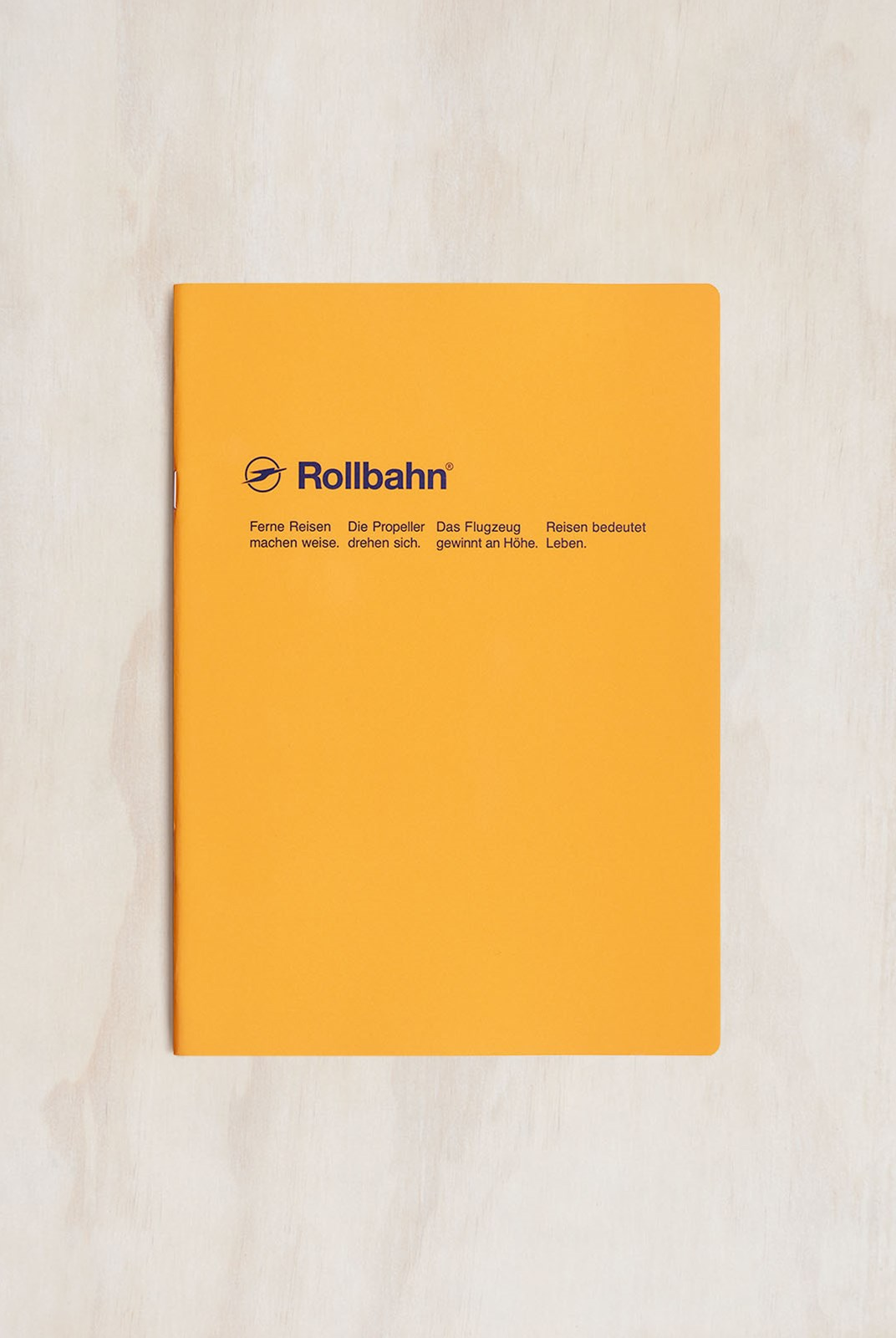 Delfonics - Rollbahn Slim Notebook - Grid - B5 - Yellow