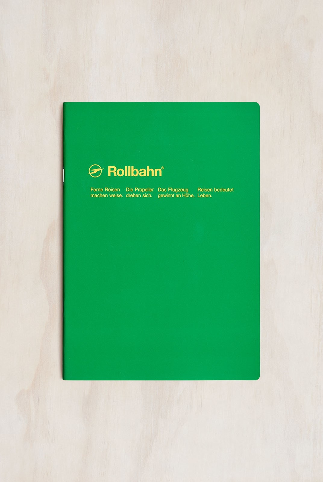 Delfonics - Rollbahn Slim Notebook - Grid - B5 - Green