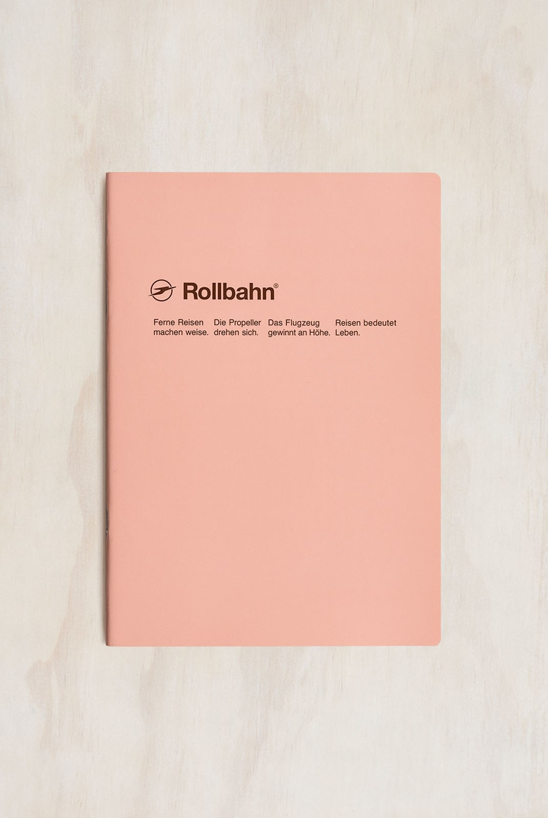 Delfonics - Rollbahn Slim Notebook - Grid - B5 - Light Pink
