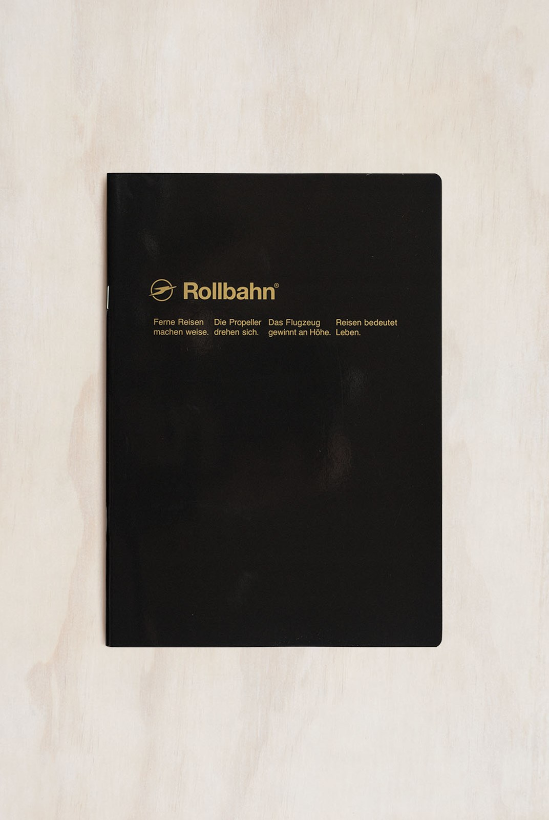 Delfonics - Rollbahn Slim Notebook - Grid - B5 - Black