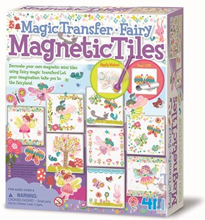 4M Fairy Magnetic Tiles Magic Transfer - Non-Fiction Art & Activity