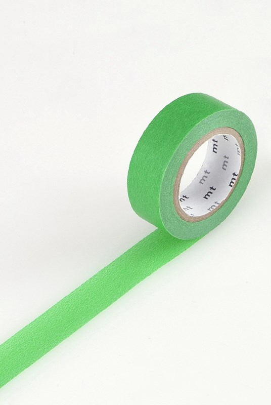 Masking Tape MT - Single Roll - Colour Block Green
