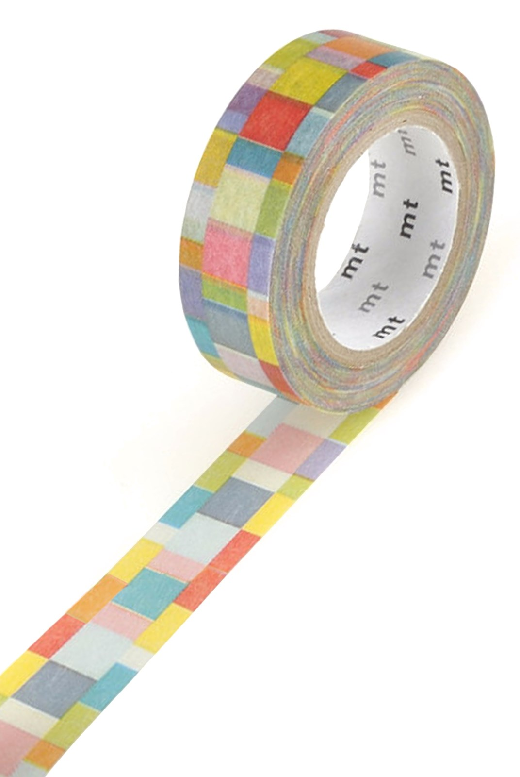 Masking Tape MT - Single Roll - Mosaic Bright