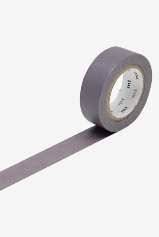 Masking Tape MT - Single Roll - Colour Block Grey
