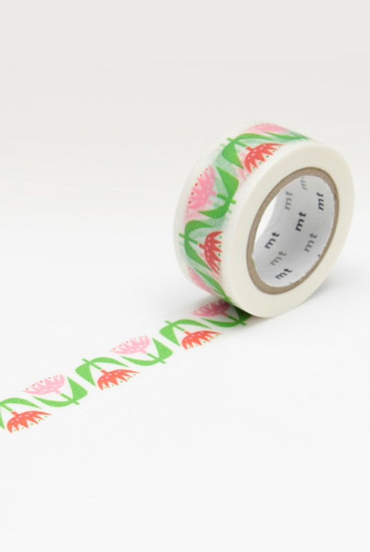 Masking Tape MT - Single Roll - Bengt & Lotta 'Tulip'