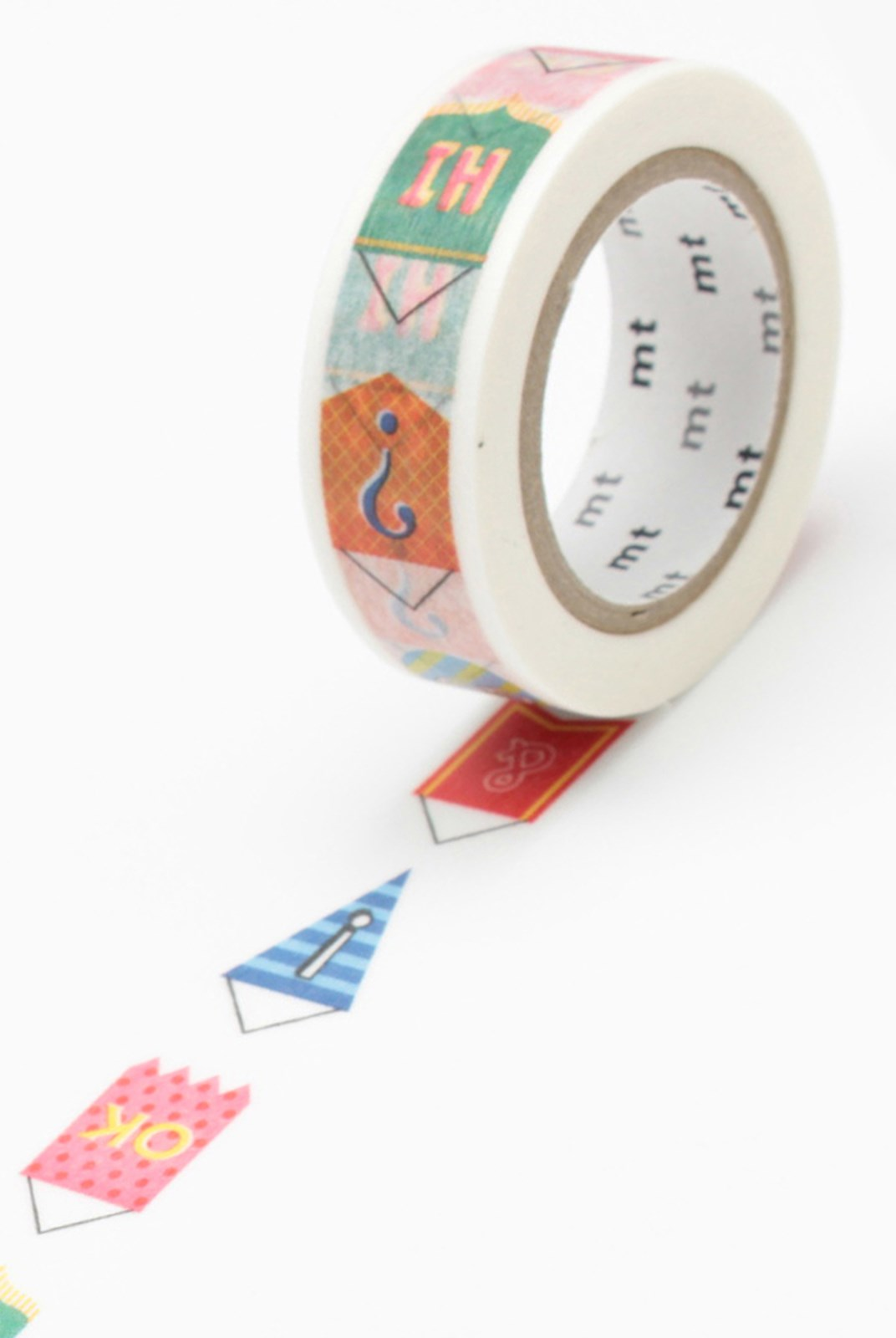 Masking Tape MT - Single Wide Roll - Pennant