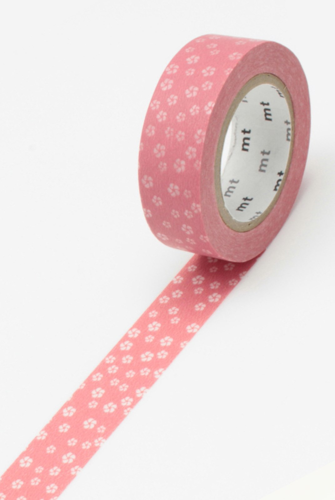Masking Tape MT - Single Roll - Blossoms Pink