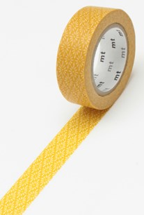 Masking Tape MT - Single Roll - Yellow Flower Deco