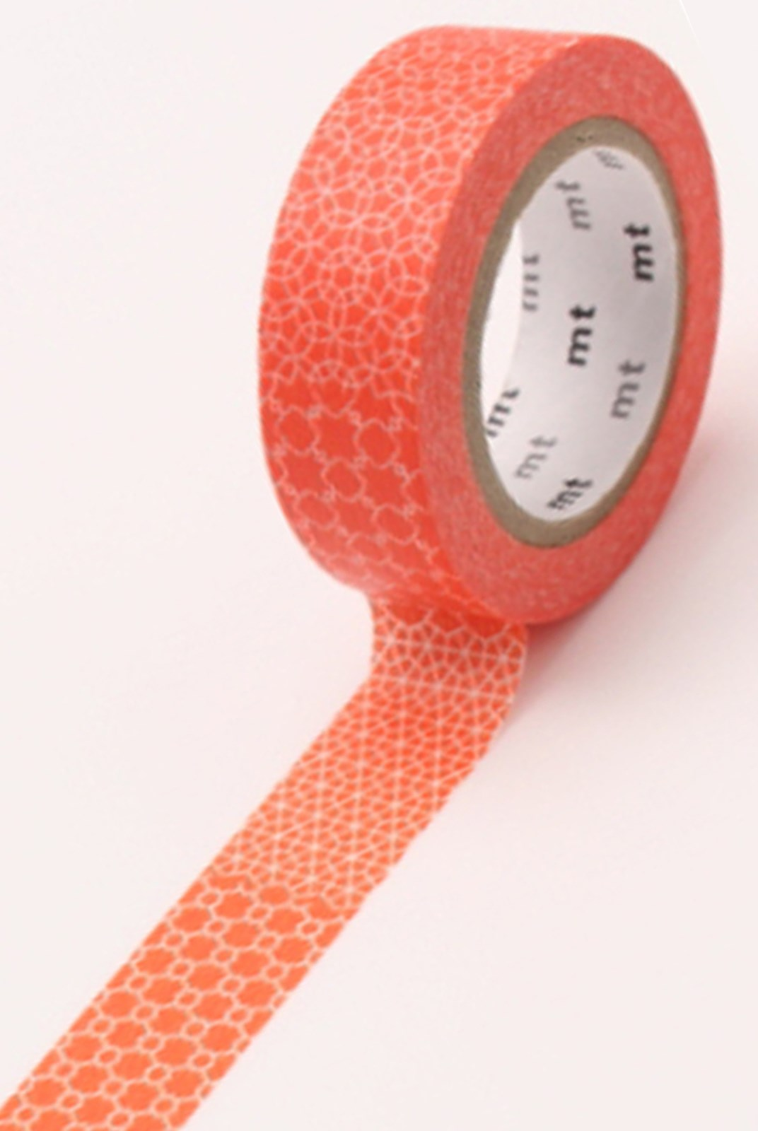 Masking Tape MT - Single Roll - Line Pattern Red Deco