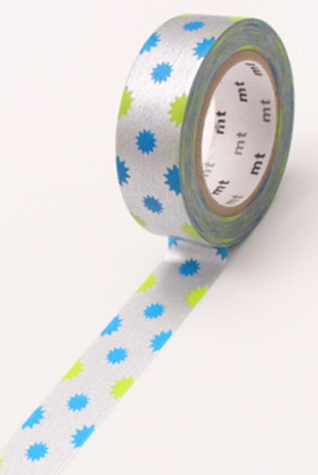Masking Tape MT - Single Roll - Kirakira Silver Deco