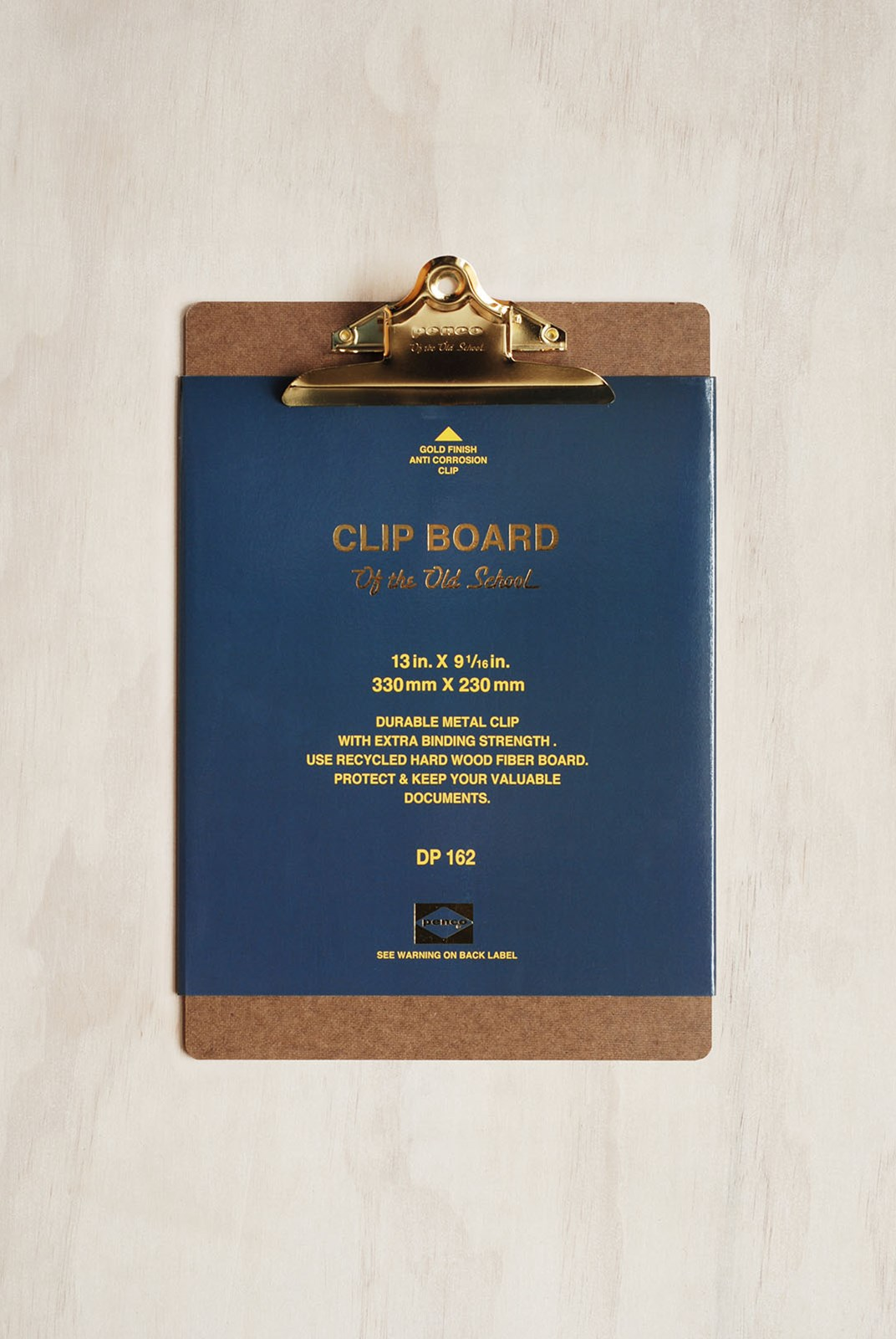 Penco - Old School Clipboard - A4 - Gold Clip