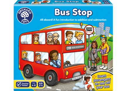 Orchard Game - Bus Stop by  (5011863100146) - Game - Children's Toys & Games Games & Puzzles