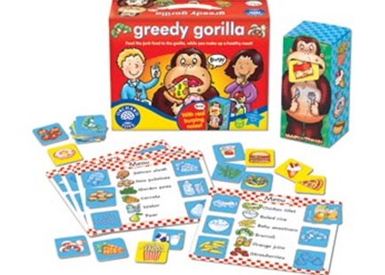 Orchard Game - Greedy Gorilla by  (5011863100894) - Game - Children's Toys & Games Games & Puzzles