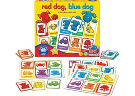 Orchard Game - Red Dog, Blue Dog Lotto Game by  (5011863100924) - Game - Children's Toys & Games Games & Puzzles