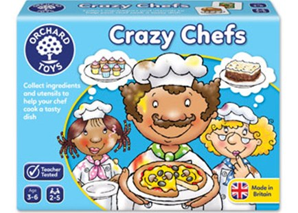 Orchard Game - Crazy Chefs Game by  (5011863101044) - Game - Children's Toys & Games Games & Puzzles