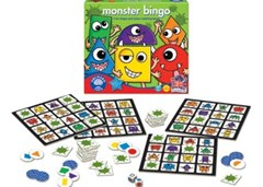 Orchard Game - Monster Bingo Game