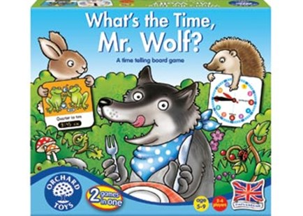 Orchard Game - What's The Time Mr Wolf? by  (5011863102188) - Game - Children's Toys & Games Games & Puzzles